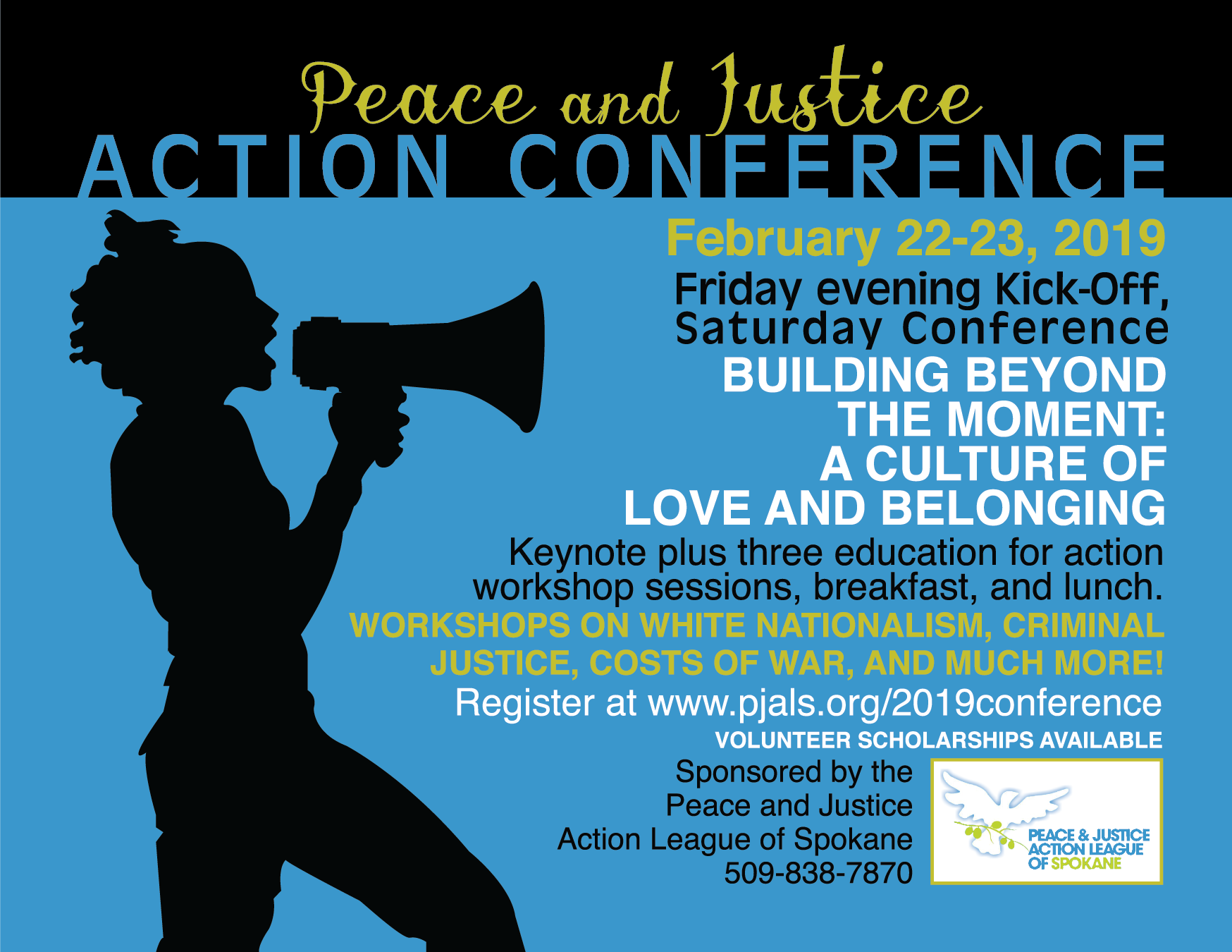 10th Annual Peace & Justice Action Conference: Building Beyond the Moment!